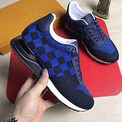 2020 neue Art und Weise hohe Qualität der kühlen Schuhe Markendesigner Leder Spitzen-up beiläufige Ebene der Bildfarbe freies Verschiffen AM210