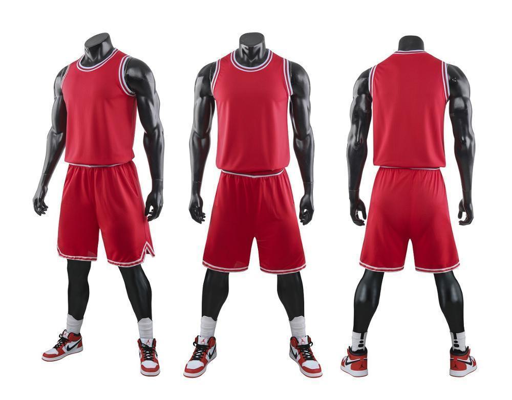 Colegio hombres jerseys del baloncesto, Uniforme de baloncesto juvenil, baloncesto barato Niño camiseta, kits de encargo Jersey ropa roja