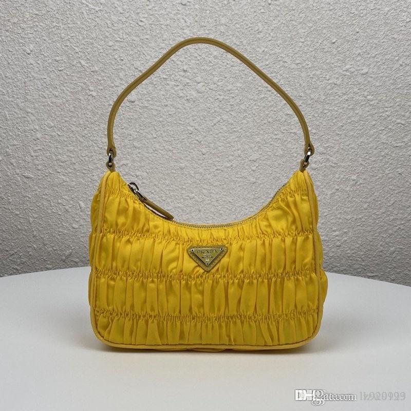 حقائب النساء المصنوعة من النايلون والسفيانو الجلدية المصغرة وحقيبة المصممات الفاخرة حقيبة كتف النساء عالية الجودة مقاس 22-18-6 سنتيمتر