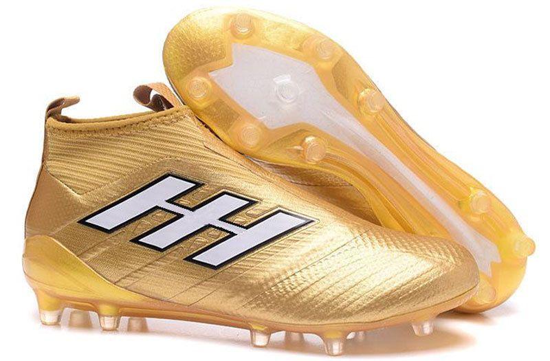 2019 New ACE Tango 17 Purecontrol FG crampons de football en plein air FG chaussures de football 2017 bottes de football ACE bottes de dragon Laceless Noir Hommes Rouge