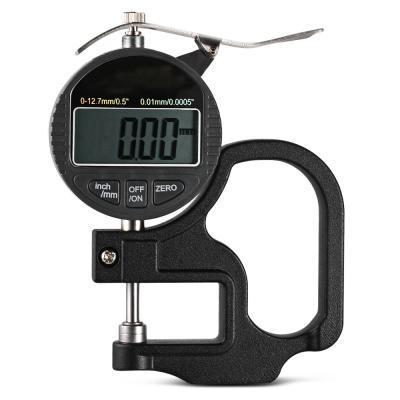 Width Measuring Instruments 0 -12 .7mm 0 .01mm Thickness Gauge Press Type Centesimal Lcd Digital Micrometer Thick Gauge Indicator Vb
