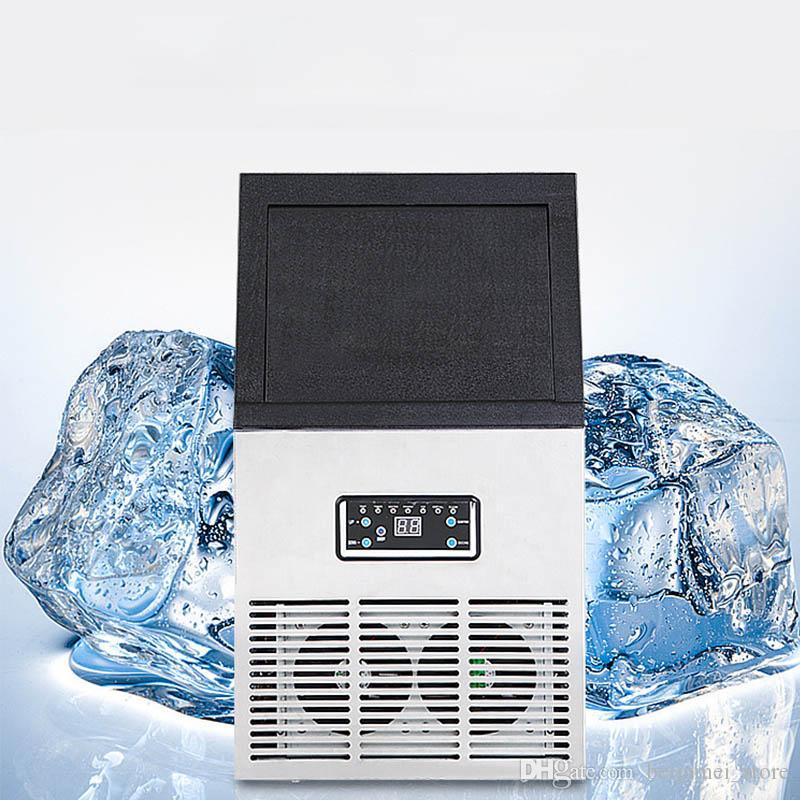 BEIJAMEI Ice Cube Fazendo Comercial Máquina Ice Maker automática, Fazer Praça Ice para Bar, Café, Leite Tea Shop