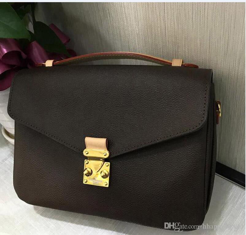 mulheres do desenhador de moda bolsas da flor de Brown senhoras crossbody Tote da compra de ombro saco de bolsa de alta qualidade