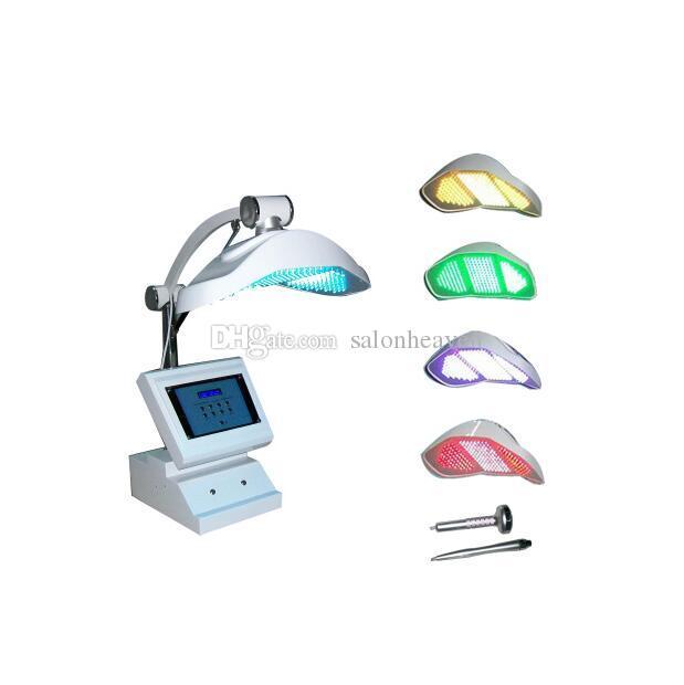 전문 휴대용 Photon LED PDT 얼굴 기계 LED 조명 PDT PDT 광역학 치료 얼굴 피부 젊 어 짐 2 일하는 핸들