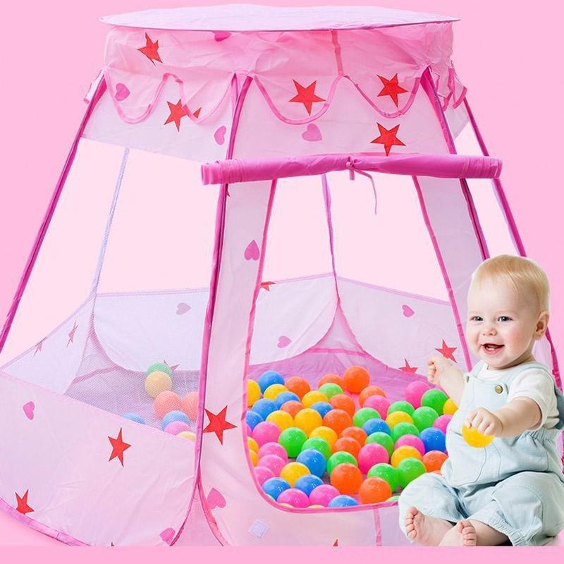 Палатка Детских Манежей Геометрической безопасности для детей мультфильма Пластиковых игр Sea Ball Pool ограждения и 6 см в диаметре океан Болла