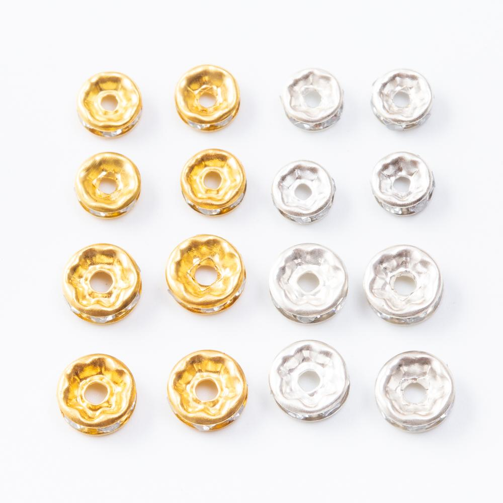 Оптовая металлическое железо материал сверла бисерные шарики, пригодные для DIY браслет ожерелье делает 7127