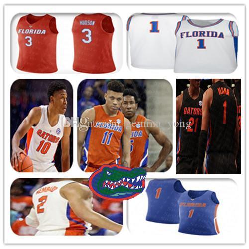 NCAA 2021 Florida Gators كرة السلة جيرسي Keyontae جونسون كيري BlackShear Jr. أندرو نيمبارد نوح لوك سكوت لويس عمر باين هورفورد