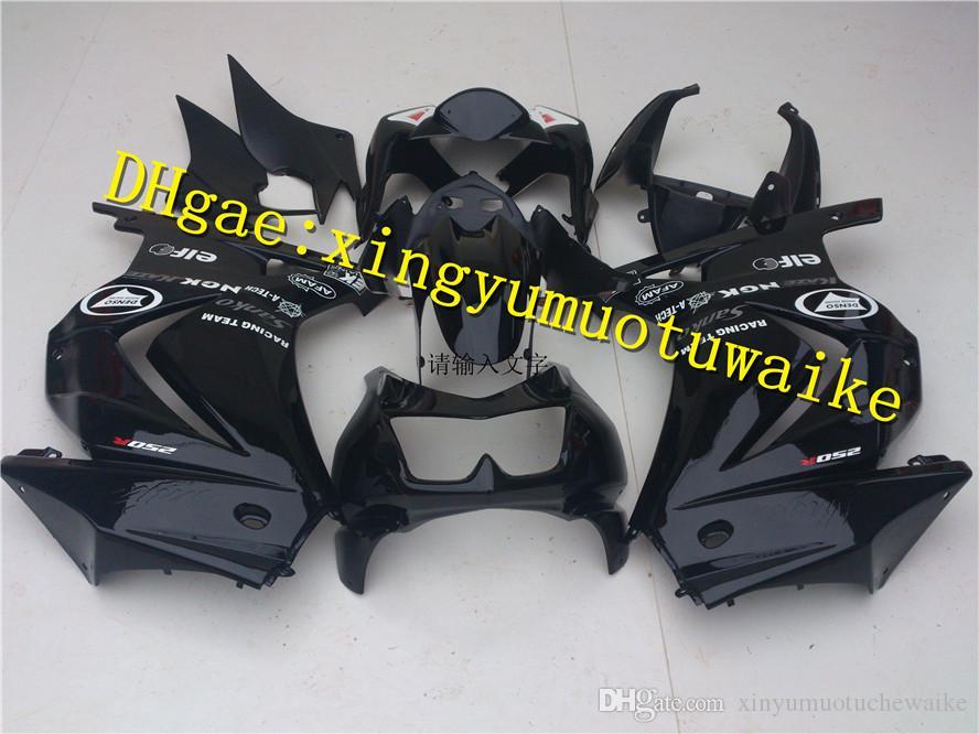 7ücretsiz hediye + Kawasaki Ninja ZX kaporta - 250 r ZX-250R 08 ~ 12 ZX 250 EX 250 2008 2009 2010 2011 2012 kaporta r