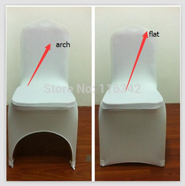 Factory Price sales promotion 100pcs banquet chair covers / lycra chair cover for weddings FREE SHIPPING