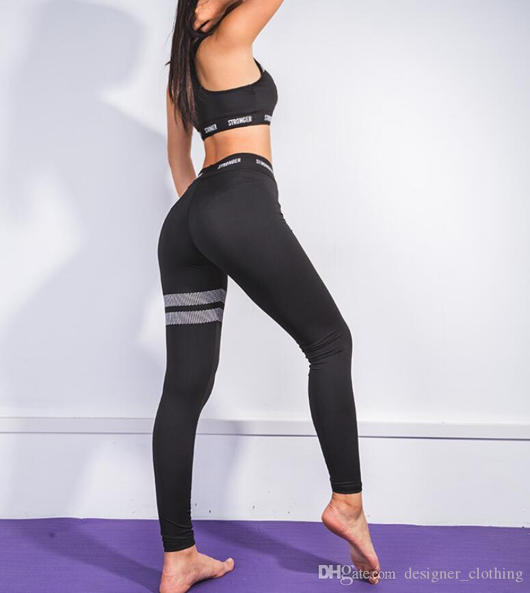 2020 yeni sıcak kadın spor yoga spor takım elbise yelek sonbahar yeni yoga kıyafetleri mektup baskı uyacak
