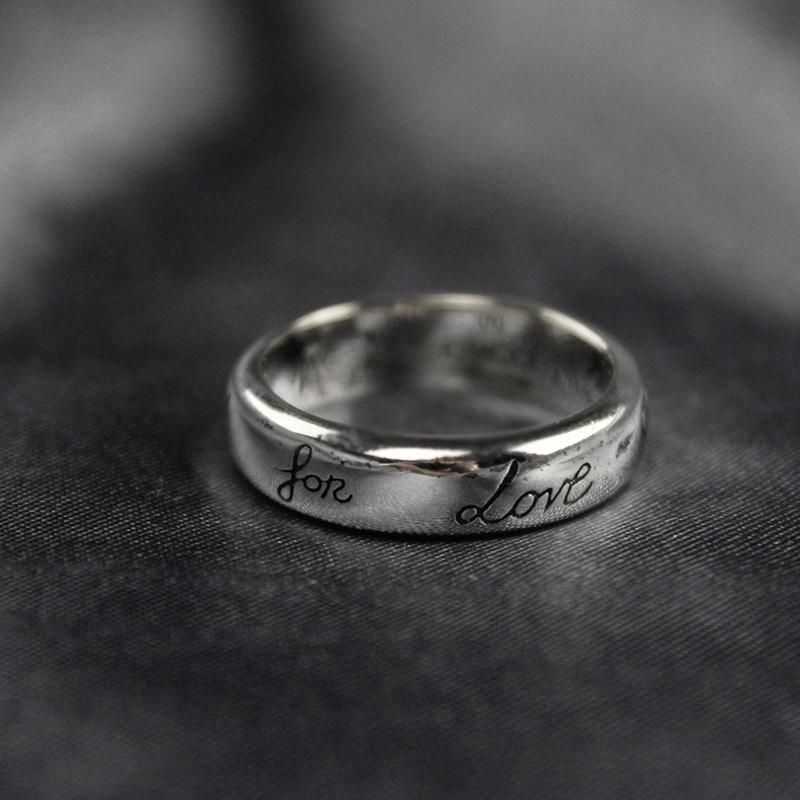 Ретро Гг кольцо Женщины Мужчины Чистый 925 стерлингового серебра Пара обручальных колец Свадебные винтажные кольца Bijoux Подарки Blind для любви
