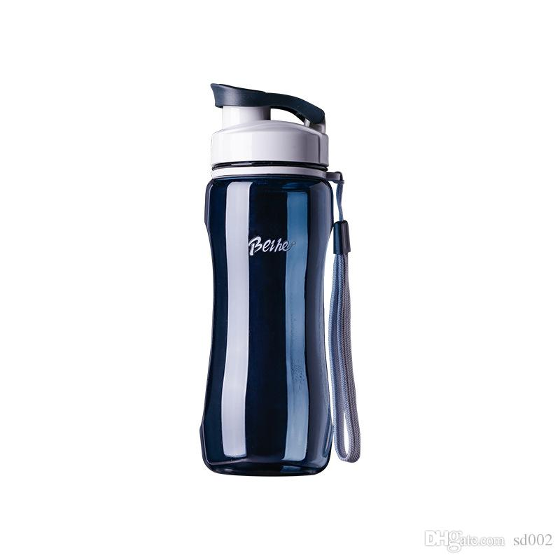 البلاستيك الفضاء الحركة عارضة كوب قدرة عالية المحمولة زجاجة المياه طالب البساطة الأصالة بهلوان تسرب مانع جديد 6 3qfb1