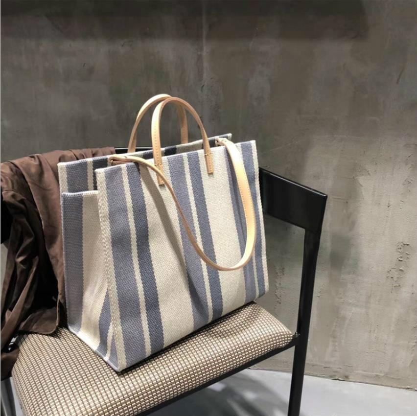 Дизайнер сумка Летняя сумка Холст Дизайнер сумки Кошельки плеча Большие сумки мода Посланник сумки Tote