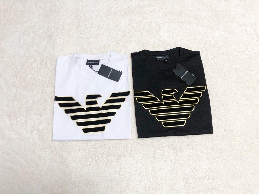 20ss más nuevas marcas de lujo diseñan AM gráfico logotipo de algodón mercerizado respirable Tee Shirts Hombres Mujeres Streetwear la camiseta al aire libre camisetas