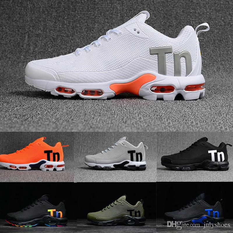 Compre Nike TN Plus Air Max Airmax Hombres Mercurial Tn Plus Kpu Air Shoes Ultra 2 SE Tpu Mesh Tn Hombres Desinger Sneakers Negro Blanco Mujeres