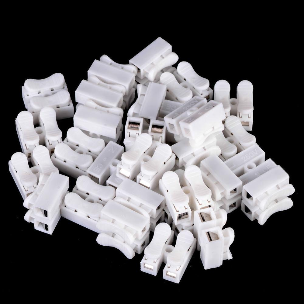500pcs Self Locking Electrical Cable Connectors Quick Splice Lock Wire Terminal 20x17.5x13.5mm BZ