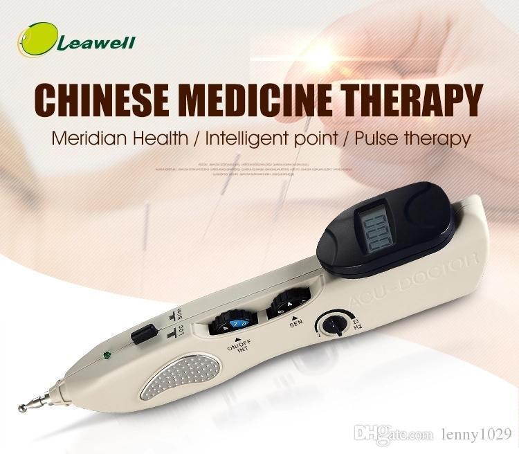 조합 초음파 치료 수십 침술 레이저 물리 치료 기계 의료 기기 초음파 포인트 감지기 펜 새로운