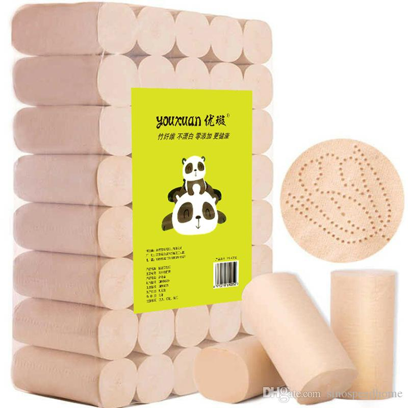 Ev tuvalet kağıdı hamuru rulo kağıt rengi ağartılmasa ve hiçbir ilave yumuşak hijyen üreticileri toptan P0303 temizleme