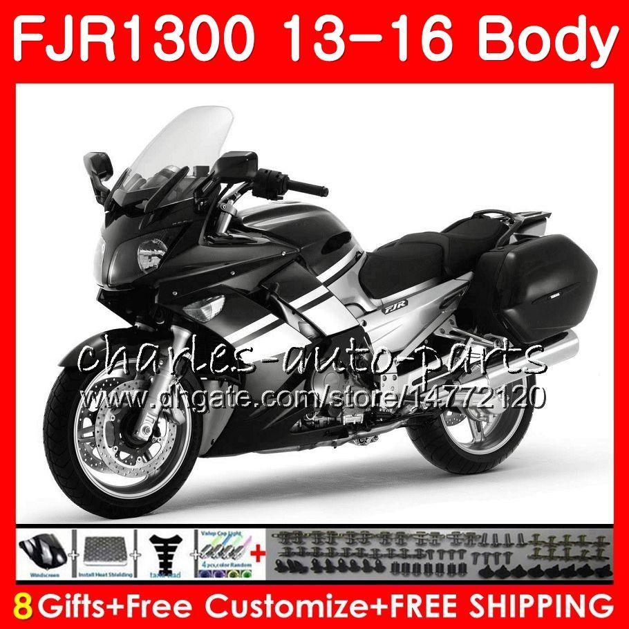 Fairing Bolt Kit CNC Complete Bodywork Kit Windshield Screws For Yamaha FJR1300 FJR 1300 2003 2004 2005