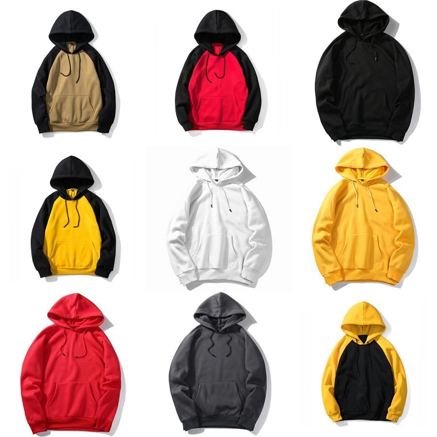 Nuovo casuale di lavoro a maglia spessa con cappuccio con zip con cappuccio da uomo Felpe M-XXL # 388