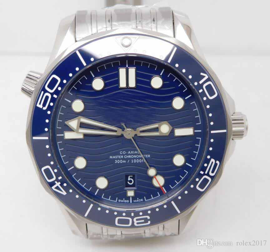 Mens Limited Edition Swiss CAL.8900 stainless steel bracelet Men Planet Sapphire Crystal Co Axial Sport Luminous Wristwatches