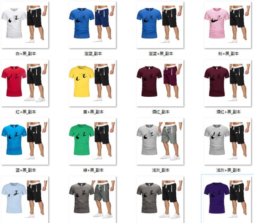 Homens mais de impressão tamanho zipper t-shorts outfits roupas casuais terno conjunto de esportes de verão 2 peças agasalho manga curta S-3XL capris DHL 3387