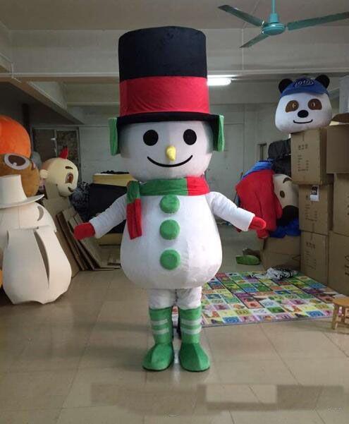 2019 Factory Outlets EVA Materiale pupazzo di neve mascotte Costumi a piedi cartoon Apparel