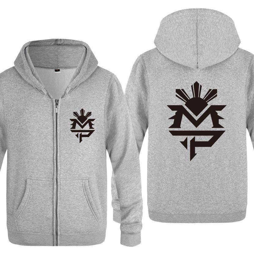 MANNY PACQUIAO Hooded Sweatshirt wth Logo