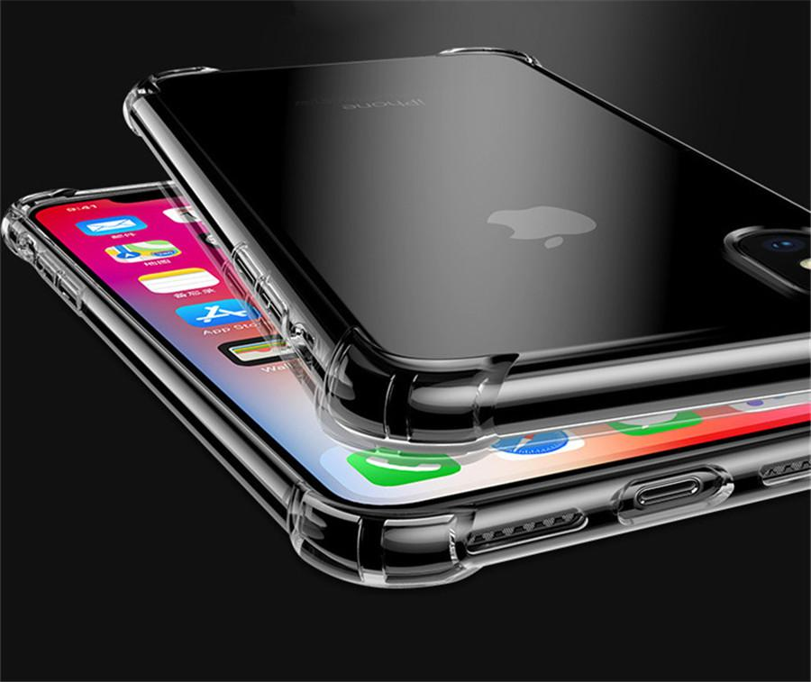Hot Sale Smooth Soft TPU Ultra Thin Slim Clear Cover Case For IPhone XS Max/ XS/XR/X/8/8plus/7/7plus/6/6plus,cell phones,mobile phone