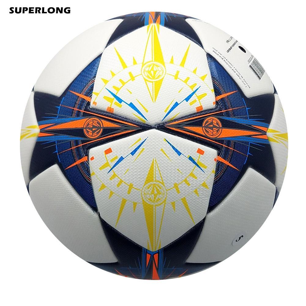 새로운 리스본 챔피언 리그 공식 크기 5 축구 공 PU 소재 Anti-slip 원활한 축구 공 Matching Training Football