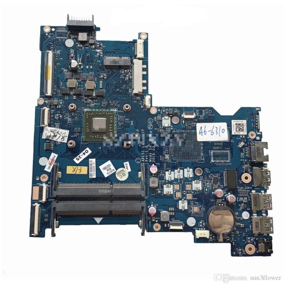 813968-501 Hauptplatine des Laptop-Motherboards Für den HP 15-AF Series A6-6310M Prozessor ABL51 LA-C781P 100% getestet