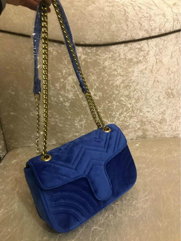 Сумки роскошные сумки роскошные сумки Бренды знаменитый дизайнер-2020 цепная сумка сумка сумка дизайнерские сумки сумки для женщин мода бархат Crossbody POFQH