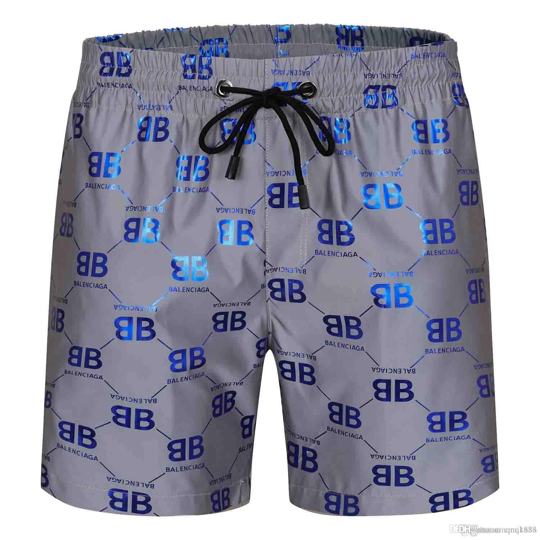 2020 de la moda Designe Polo para hombre pantalones de la playa de los pantalones de hombre basculador del traje de baño de la resaca de nylon pantalones cortos de chándal Swim Wear Bañadores
