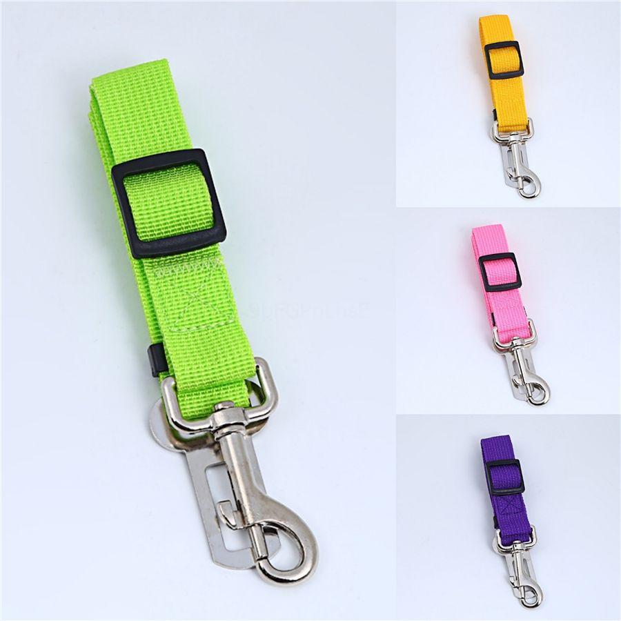 Ajustável Leash Small Dog Pet Harness Nylon chumbo filhote de cachorro colorido trelas sair Mão Strap Vest Collar Para Cat Dog Coelho grátis # 582
