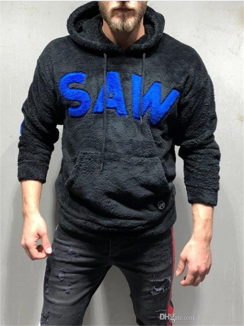 Время выбора модных пуловер толстовки с длинным рукавом повседневная одежда Parted Mens Flece куртка дизайнер