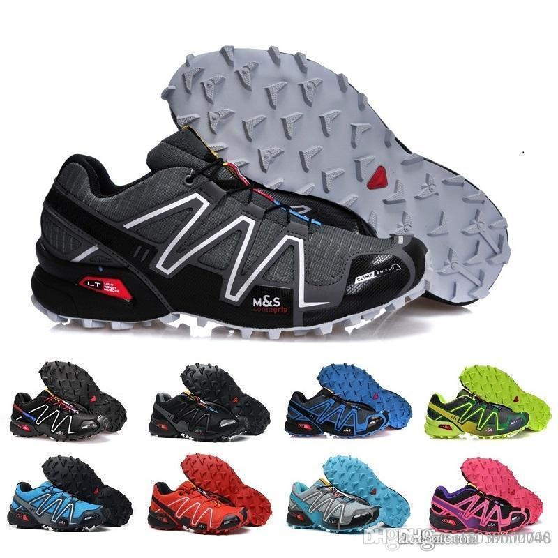 2019 Hot Multicolor Zapatillas Speedcross 3 luxe design Chaussures Casual Sneakers croix marche Hommes Vitesse Taille 40-46
