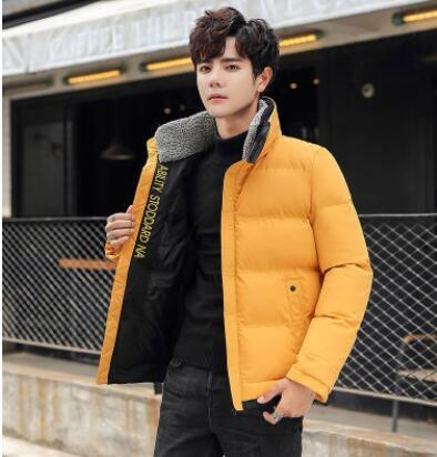 giubbotto caldo nuova moda cotone migliore parka uomini donne casuali inverno piumini parka maschile 2020 il trasporto libero ispessiscono il cappotto Outerwear caldo