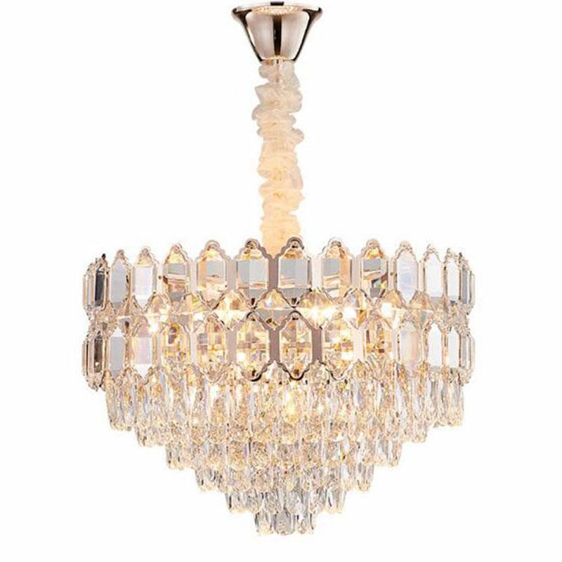 فاخر الحديثة كريستال الثريا للترف غرفة المعيشة غرفة نوم وغرفة طعام مصباح أضواء LED اللوبي الديكور كريستال الثريا