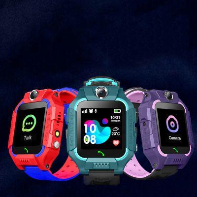 Z6 Smart Watch детские наручные часы Водонепроницаемые детские часы с удаленной камерой SIM звонки подарок для детей