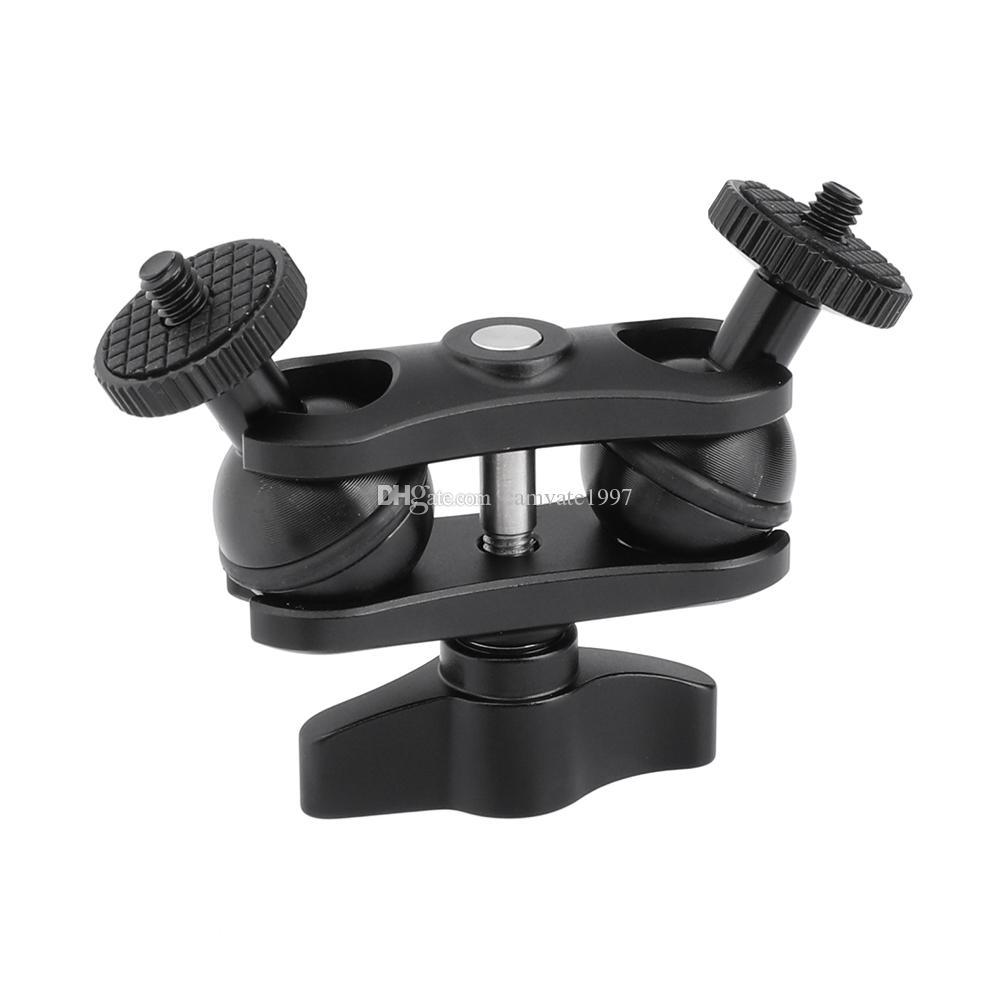 "CAMVATE Versatile Magic Arm With Double Ball Head 1/4""-20 Thread Screw Mount For DSLR Camera Accessories Item Code: C2463"