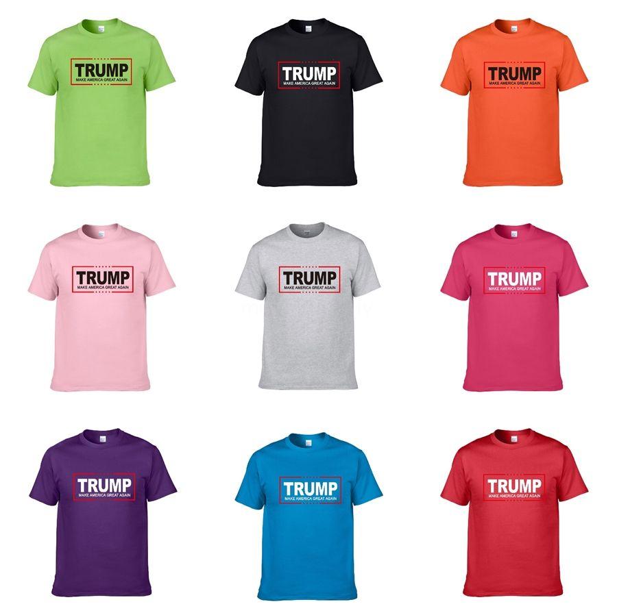 Nuovo progettista Gym Bodybuilding Trump T-shirt Sport Trump magliette senza maniche T-shirt Uomini Homme fitness allenamento Tops sottile Stampa carica Tsh