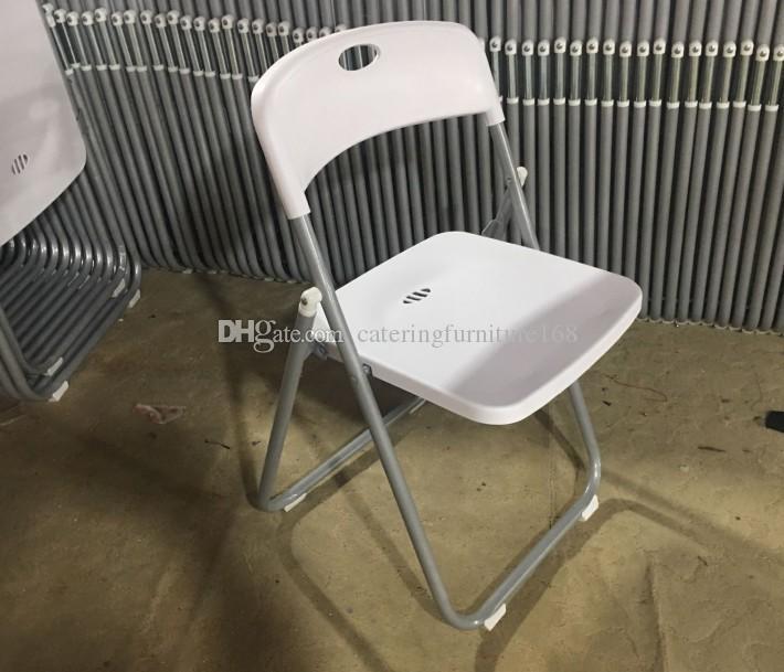 Sedie In Plastica Prezzi.Acquista Sedie Pieghevoli Di Plastica E Metallo A Basso Prezzo