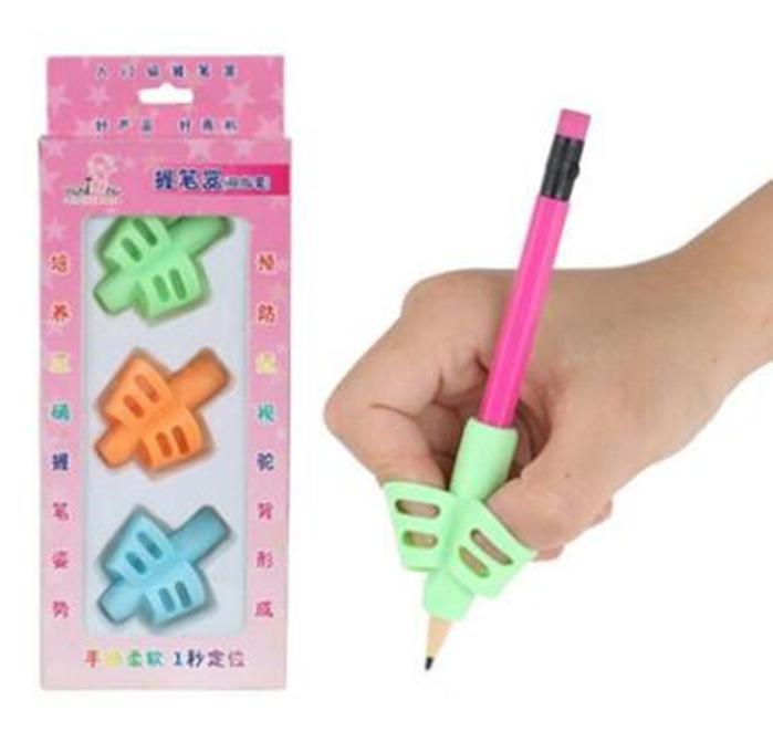 Kalem Kabze, Çocuk DHL Bedava Çocuk El Yazısı, Parmak Tutma Duruş düzeltme Aracı Kalem Sapları