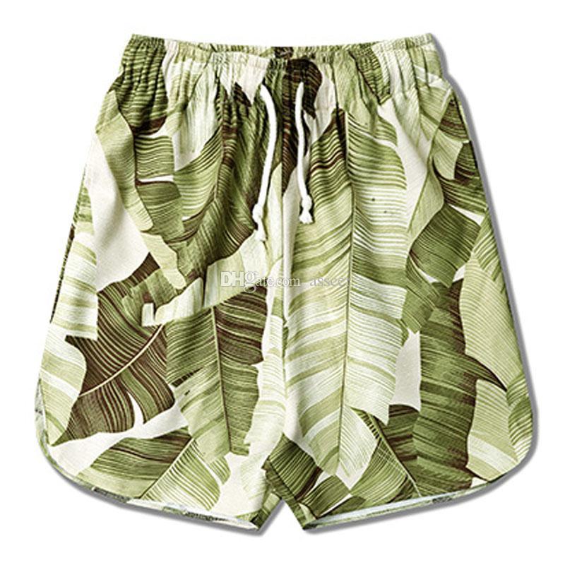 2019 Moda Uomo Shorts Pantaloni della spiaggia degli uomini Uomini donne di alta qualità Pantaloncini sportivi estivi Dim M-XL