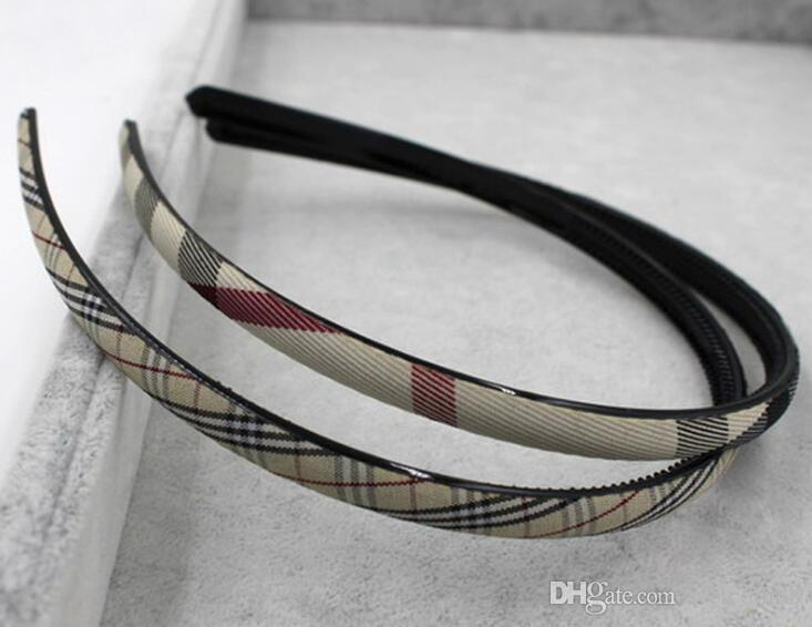10pcs/lot Mix Colors lattice Style Hairband Headbands For Woman Hair Jewelry Gift HJ12*