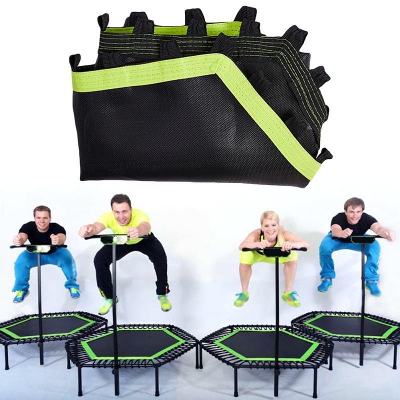 Mini Trampoline Bar Fitness Accessoires Trampoline intérieur Replaceable Bungee Rebounder Printemps Saut Cardio Workout Entraîneur
