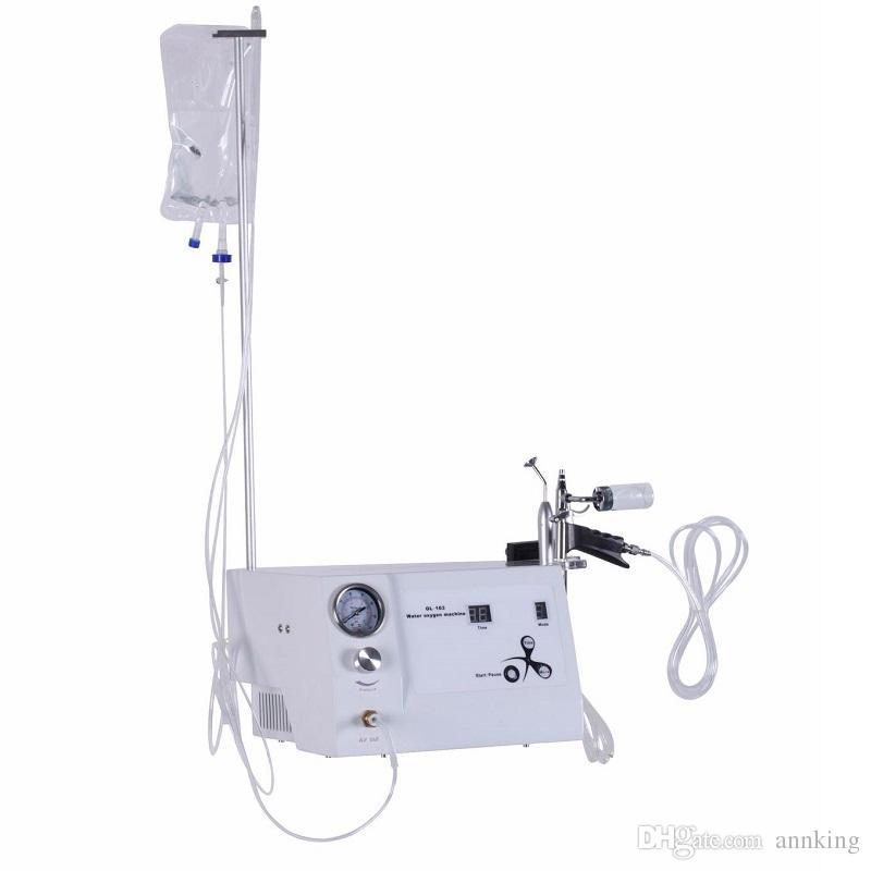 المياه الأكسجين حقن العناية بالبشرة آلة عالية الجودة المهنية الأكسجين هيدرو العناية بالوجه الأجهزة صالون تجميل