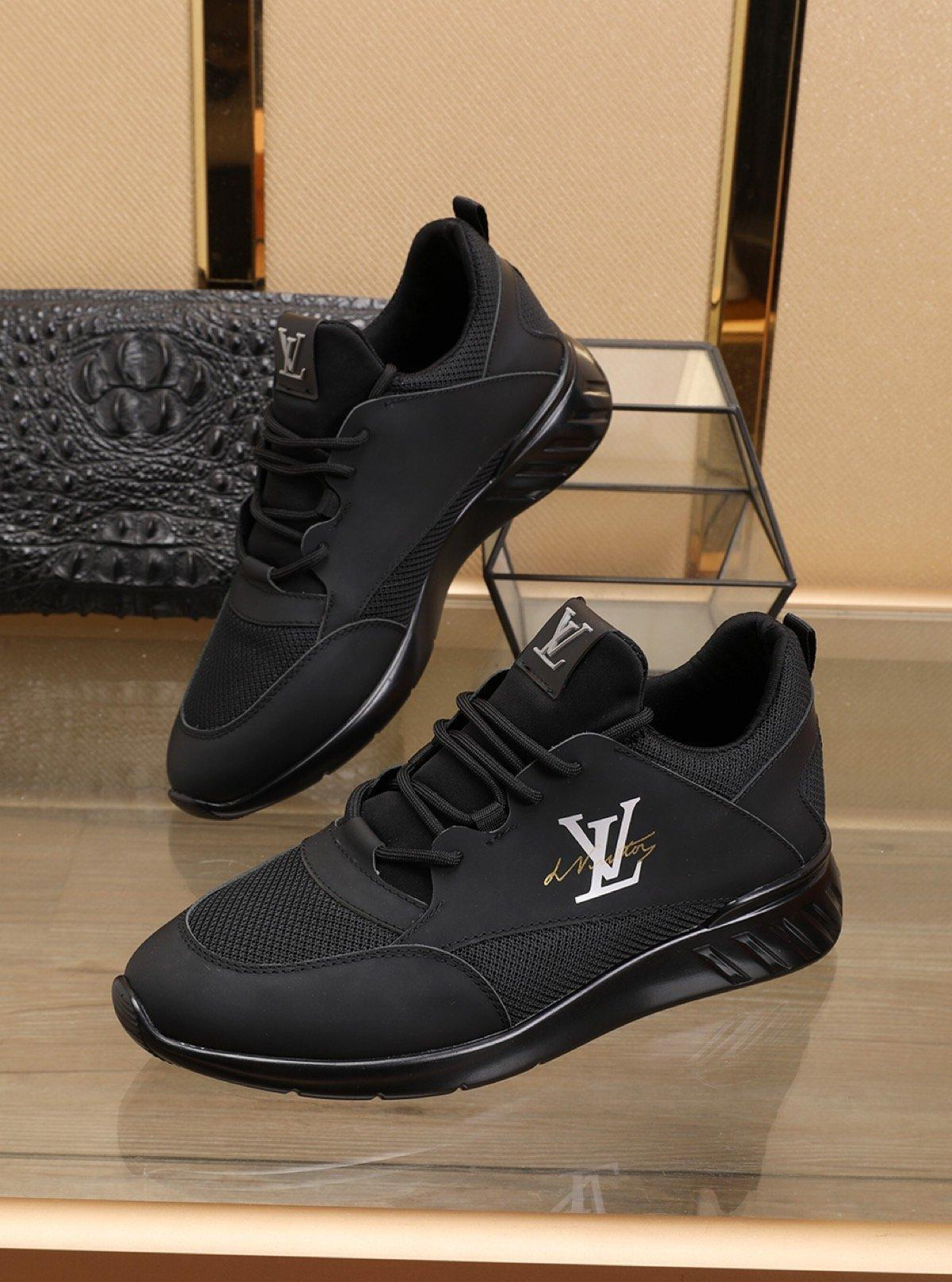 Mode Luxus Männer Freizeitschuhe Leder kundenspezifischen Männer Schnür-Turnschuhe atmungsaktive Schuhe der Qualitätsmänner Trainer Schuhe RUN AWAY SNEAKER 06