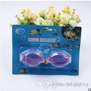 أنتيفوج ماء الأطفال أطفال بنين بنات نظارات الغوص مع سدادة الأذن كليب نظارات السباحة مع حزمة دي إتش إل الحرة