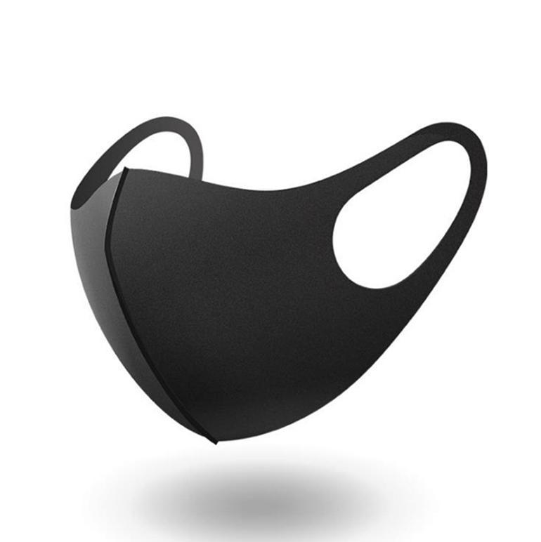 Ağız Anti-PM 2.5 Toz Kapağı Yüz Anti-toz Ağız Solunum toz geçirmez anti-bakteriyel Yıkanabilir Yeniden kullanılabilir Sünger Yüz maskeleri 2000pcs maske
